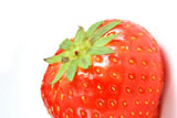 Strawberry close-up high-definition 6615