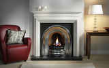 Western-style home fireplace 23299