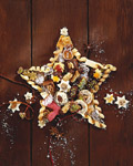Beautiful Christmas feast material 23176