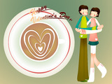 Romantic Valentine's Day illustration class 12165