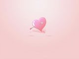 Beautifully designed Valentine's Day wallpaper x 1693