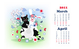 Calendar Year of the Rabbit 15489