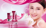 HD cosmetics ads wallpaper 5261