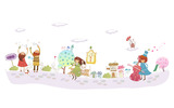 Cartoon Graphic Design Wallpaper 12082