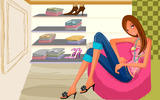 Fashion Illustration Women Wallpapers 18374