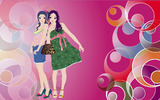 Fashion women wallpaper 19433