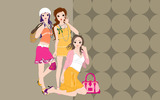 Fashion women wallpaper 20232