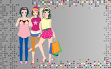 Fashion women wallpaper 20476