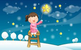 Happy childhood winter chapter illustrations 10934