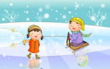 Happy childhood winter chapter illustrations 12431