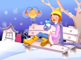 Winter illustration 14319
