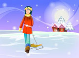 Winter illustration 15245