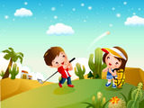 Cartoon childhood dream 21187