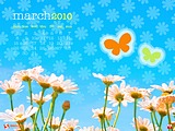 Calendar for March Widescreen 1026