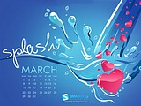 Calendar for March Widescreen 1716