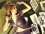Buffy the Vampire Slayer comic blame Well Soon 9286