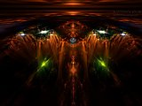 Abstract visual graphics of light 5421