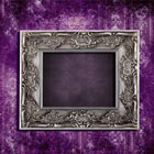 European-style frame with beautiful wallpaper 27518