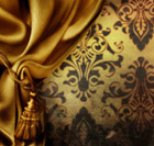 European gorgeous curtains 27637