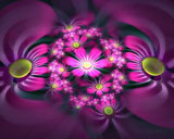 D fantasy abstract flowers 1069