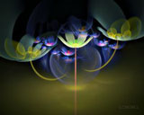 D fantasy abstract flowers 1415