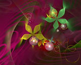D fantasy abstract flowers 5303