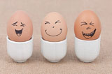 Funny face type cute eggs 11587