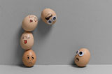 Funny face type cute eggs 12362