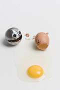Funny face type cute eggs 12860