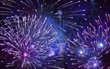 Colorful fireworks 1076