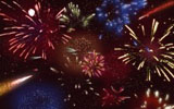 Colorful fireworks 1935