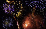 Colorful fireworks 2439