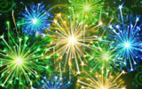 Colorful fireworks 2604