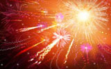 Colorful fireworks 2767