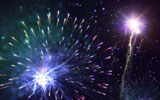 Colorful fireworks 3091
