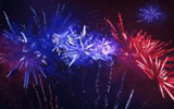Colorful fireworks 378