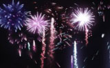 Colorful fireworks 553