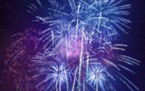 Colorful fireworks 902