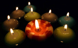Candle wallpaper 2441