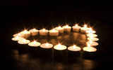 Candle wallpaper 3858