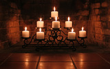 Candle wallpaper 6553