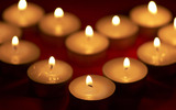 Candle wallpaper 7048