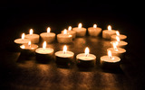 Candle wallpaper 7647
