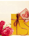 Fashion gift packaging material 19020