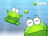 Mung bean frog wallpaper 4401