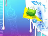Mung bean frog wallpaper 7012