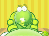 Mung bean frog wallpaper 7727