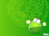 Mung bean frog wallpaper 9172