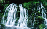 Waterfalls, streams, 750