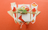 Japanese New Year and cultural material 2800